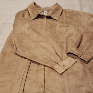 Botton front shirt.  Brand new with tags.